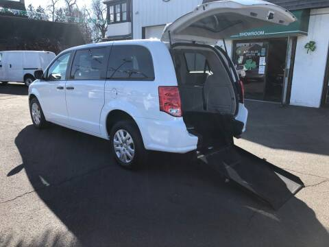 2019 Dodge Grand Caravan Wheelchair Van for sale at Auto Sales Center Inc in Holyoke MA
