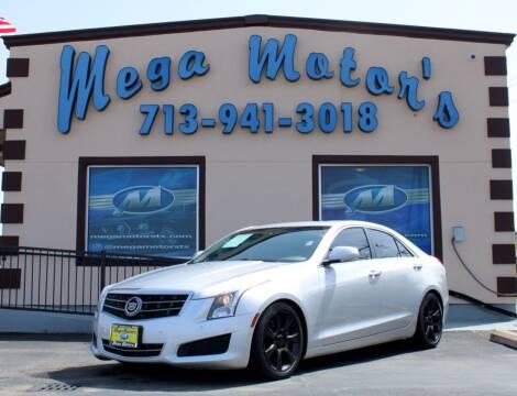 2013 Cadillac ATS for sale at MEGA MOTORS in South Houston TX
