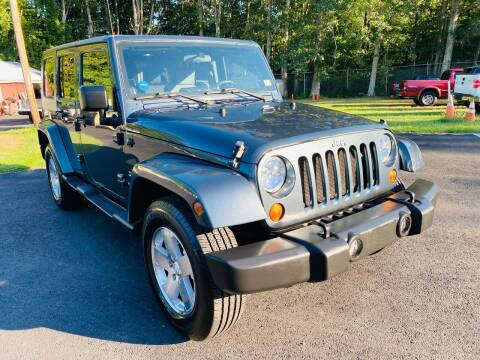 2008 Jeep Wrangler Unlimited for sale at MBL Auto Woodford in Woodford VA