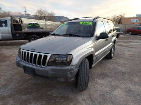 2000 Jeep Grand Cherokee for sale at Canyon View Auto Sales in Cedar City UT