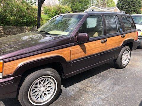 1993 Jeep Grand Wagoneer for sale at Classic Car Deals in Cadillac MI