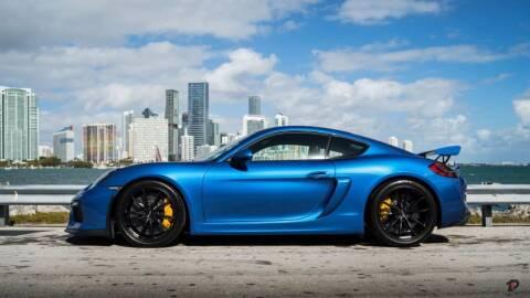 2016 Porsche Cayman for sale at PARKHAUS1 in Miami FL