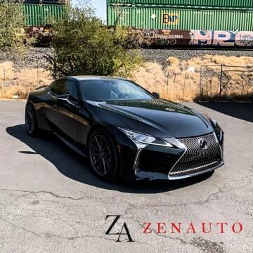 2020 Lexus LC 500 for sale at Zen Auto Sales in Sacramento CA