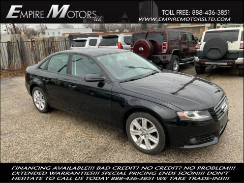 2011 Audi A4 for sale at Empire Motors LTD in Cleveland OH
