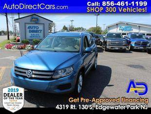 2017 Volkswagen Tiguan for sale at Auto Direct Trucks.com in Edgewater Park NJ