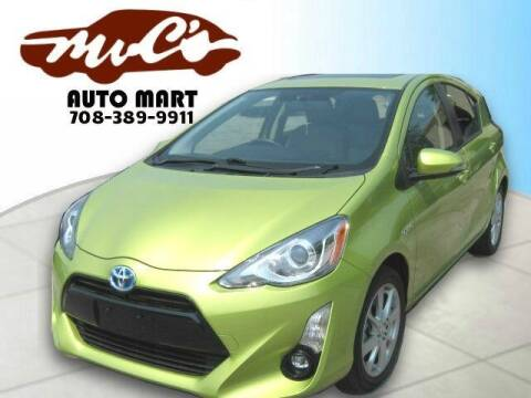 2015 Toyota Prius c for sale at Mr.C's AutoMart in Midlothian IL