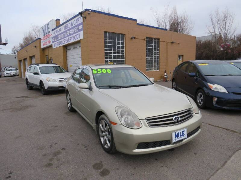 2005 Infiniti G35 for sale at Nile Auto Sales in Denver CO