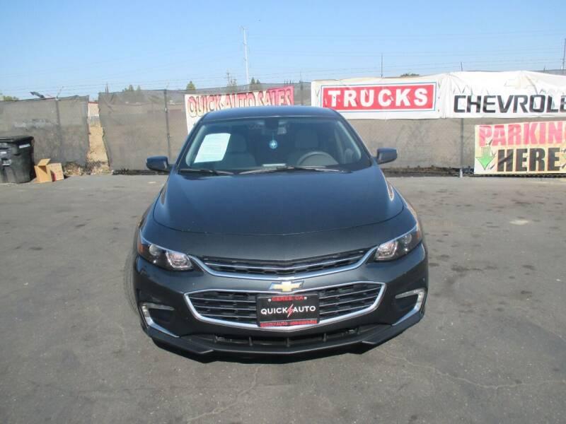 2017 Chevrolet Malibu for sale at Quick Auto Sales in Modesto CA