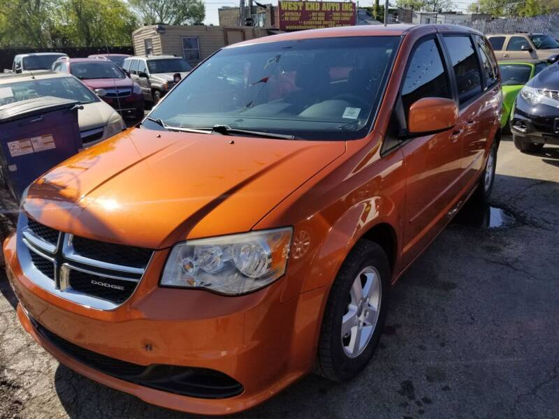 2011 Dodge Grand Caravan for sale at WEST END AUTO INC in Chicago IL