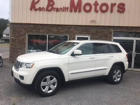 2012 Jeep Grand Cherokee for sale at K B Motors in Clearfield PA