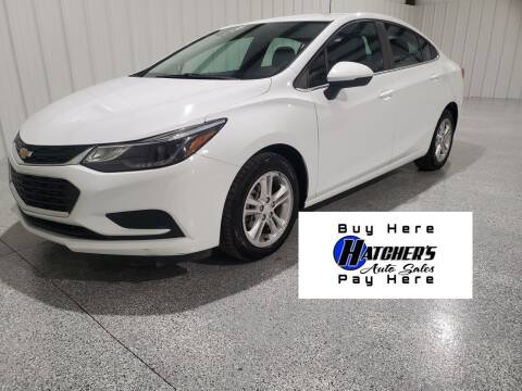 2018 Chevrolet Cruze for sale at Hatcher's Auto Sales, LLC - Buy Here Pay Here in Campbellsville KY