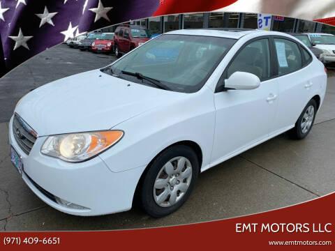 2009 Hyundai Elantra for sale at EMT MOTORS LLC in Portland OR