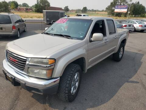 2009 GMC Canyon for sale at BELOW BOOK AUTO SALES in Idaho Falls ID