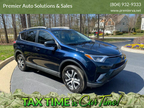 2017 Toyota RAV4 for sale at Premier Auto Solutions & Sales in Quinton VA