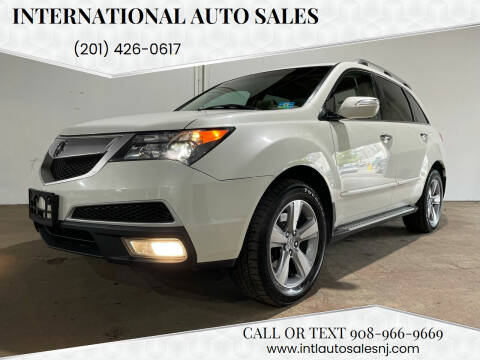 2012 Acura MDX for sale at International Auto Sales in Hasbrouck Heights NJ