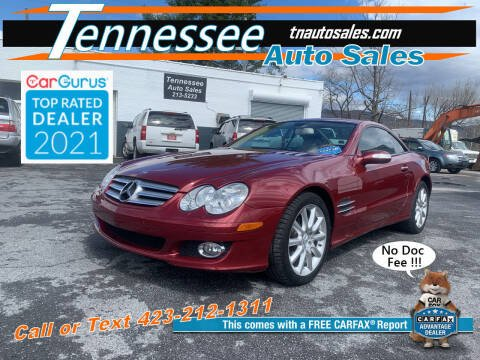 2007 Mercedes-Benz SL-Class for sale at Tennessee Auto Sales in Elizabethton TN