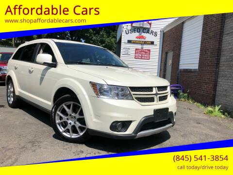 2013 Dodge Journey for sale at Affordable Cars in Kingston NY