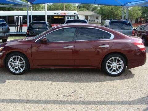 2010 Nissan Maxima for sale at Chuck Spaugh Auto Sales in Lubbock TX