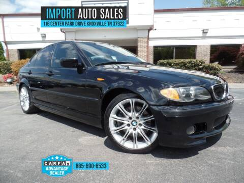 2005 BMW 3 Series for sale at IMPORT AUTO SALES in Knoxville TN