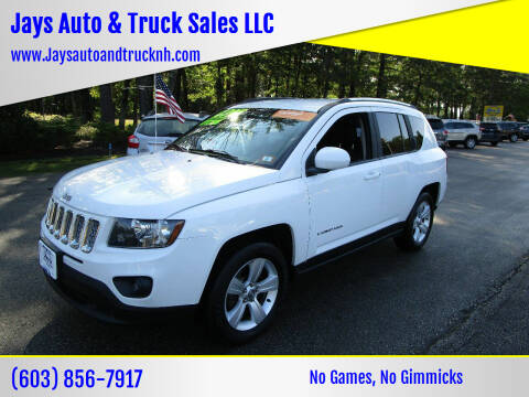 2014 Jeep Compass for sale at Jays Auto & Truck Sales LLC in Loudon NH