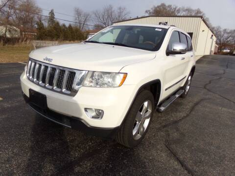2012 Jeep Grand Cherokee for sale at Rose Auto Sales & Motorsports Inc in McHenry IL