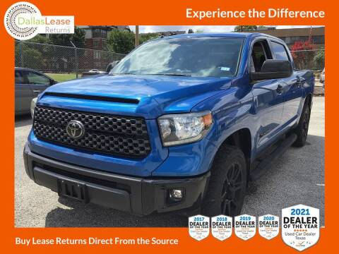 2018 Toyota Tundra for sale at Dallas Auto Finance in Dallas TX