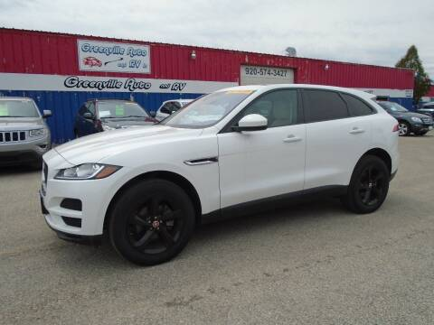 2018 Jaguar F-PACE for sale at GREENVILLE AUTO & RV in Greenville WI