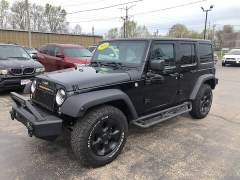 2016 Jeep Wrangler Unlimited for sale at Smart Buy Auto in Bradley IL