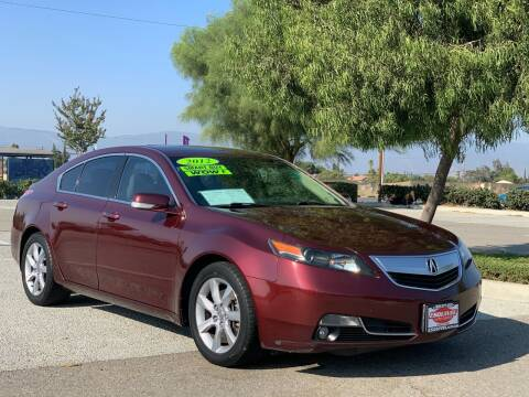 2012 Acura TL for sale at Esquivel Auto Depot in Rialto CA