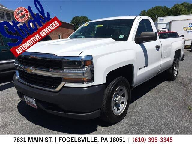 2016 Chevrolet Silverado 1500 for sale at Strohl Automotive Services in Fogelsville PA
