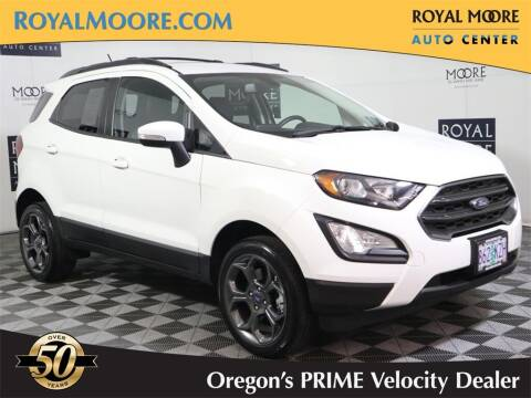 2018 Ford EcoSport for sale at Royal Moore Custom Finance in Hillsboro OR