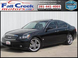 2007 Infiniti M45 for sale at Fall Creek Motor Cars in Humble TX