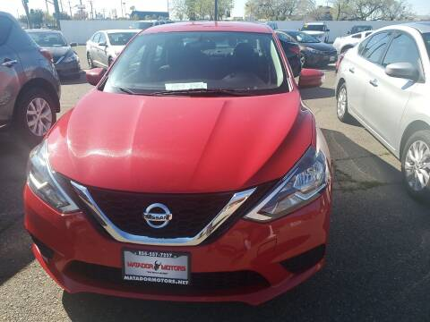 2017 Nissan Sentra for sale at Matador Motors in Sacramento CA