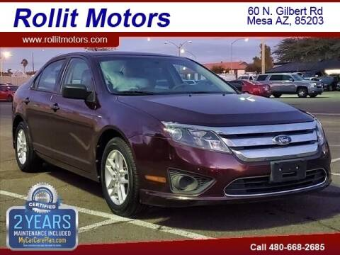 2012 Ford Fusion for sale at Rollit Motors in Mesa AZ