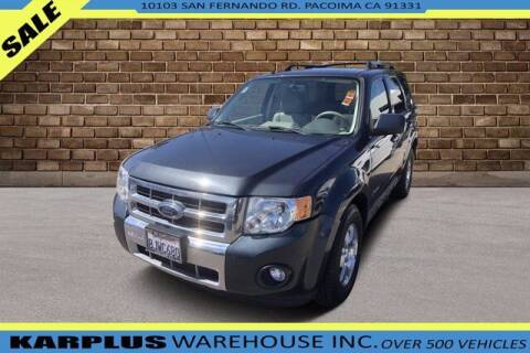 2009 Ford Escape Hybrid for sale at Karplus Warehouse in Pacoima CA