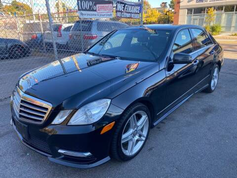 2013 Mercedes-Benz E-Class for sale at Polonia Auto Sales and Service in Hyde Park MA