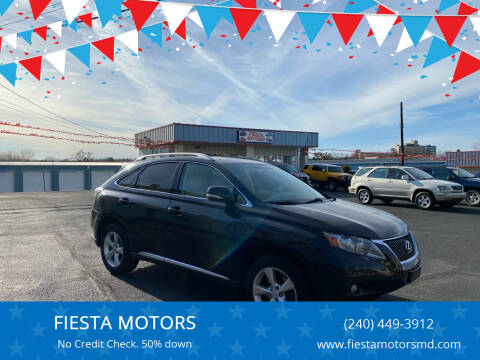 2010 Lexus RX 350 for sale at FIESTA MOTORS in Hagerstown MD