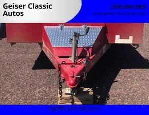 2015 Rice Trailer FMC8218 for sale at Geiser Classic Autos in Roanoke IL
