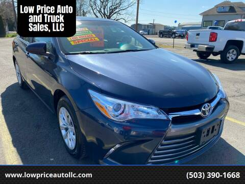 2016 Toyota Camry for sale at Low Price Auto and Truck Sales, LLC in Salem OR