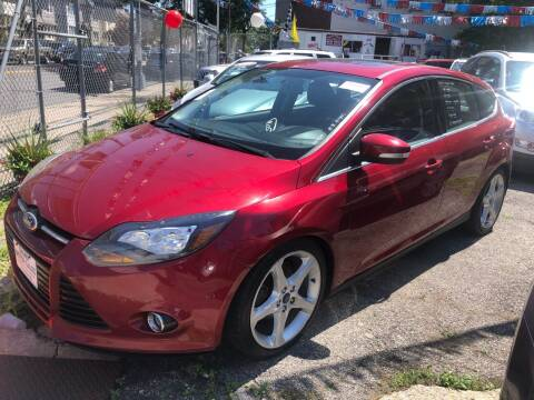 2014 Ford Focus for sale at GARET MOTORS in Maspeth NY