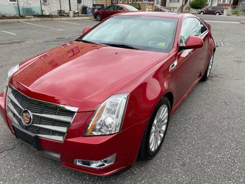 2011 Cadillac CTS for sale at JG Auto Sales in North Bergen NJ