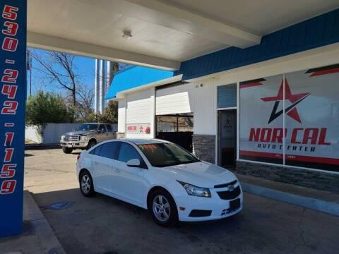 2014 Chevrolet Cruze for sale at Nor Cal Auto Center in Anderson CA