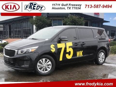 2017 Kia Sedona for sale at FREDY KIA USED CARS in Houston TX
