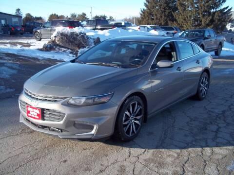 2017 Chevrolet Malibu for sale at SHULLSBURG AUTO in Shullsburg WI
