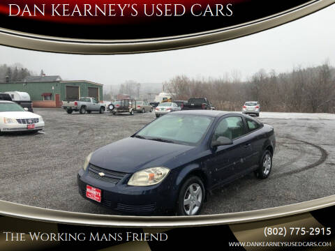 2008 Chevrolet Cobalt for sale at DAN KEARNEY'S USED CARS in Center Rutland VT