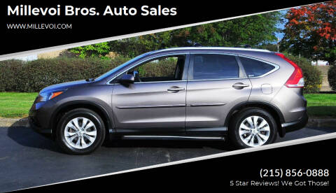 2012 Honda CR-V for sale at Millevoi Bros. Auto Sales in Philadelphia PA