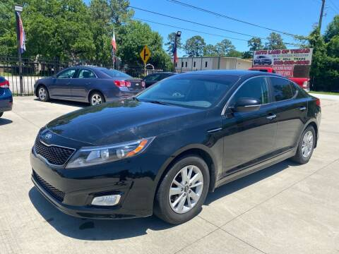 2015 Kia Optima for sale at Auto Land Of Texas in Cypress TX