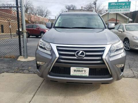 2015 Lexus GX 460 for sale at Murrays Used Cars in Baltimore MD