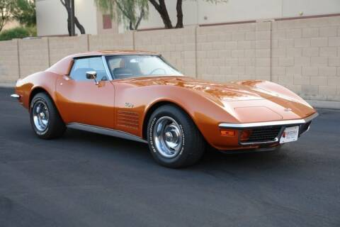 1972 Chevrolet Corvette for sale at Arizona Classic Car Sales in Phoenix AZ