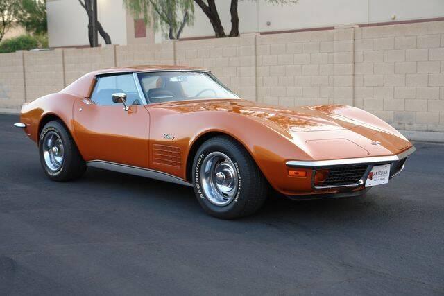 1972 Chevrolet Corvette for sale at Arizona Classic Car Sales in Phoenix AZ
